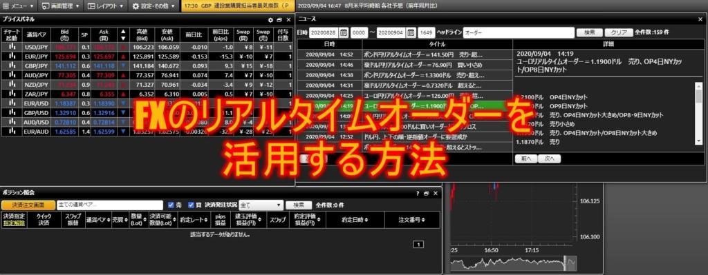 FXのリアルタイムオーダーを活用する方法