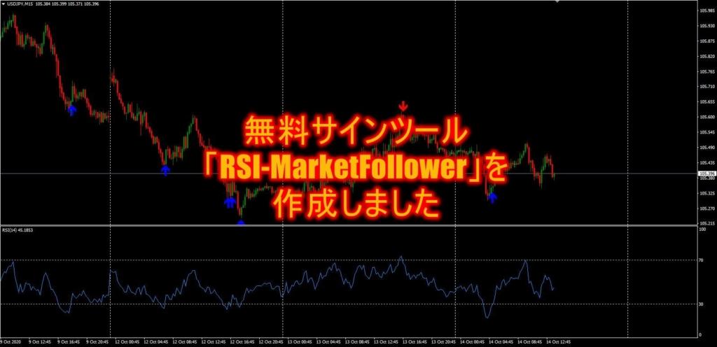 無料サインツール「RSI-MarketFollower」を作成しました